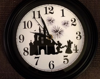 Disney Wishes Inspired Wall Clock