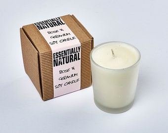 Organic Soy Votive Candle