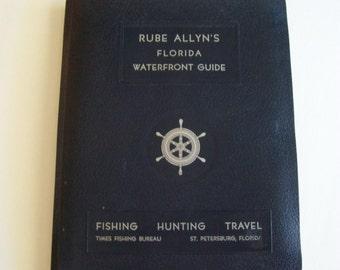 Rube Allyn Florida Waterfront Guide, Circa 1960s-Coastal Areas