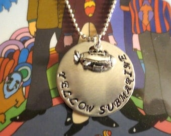 "Beatles ""Yellow Submarine"" necklace"