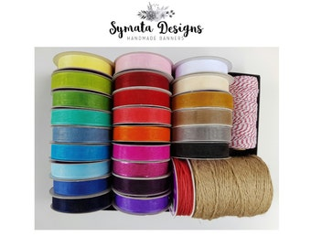 NOT FOR SALE - Ribbon Colours available at Symata Designs