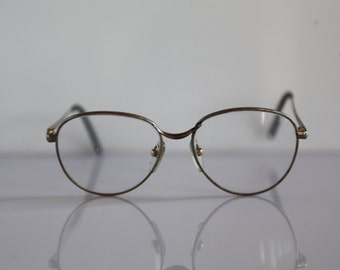 Vintage MEITZNER FINNA Eyewear, Silver Frame, Clear Lenses.  Rare Piece. Made in Germany