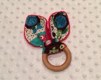"3"" Wooden Teething Ring"