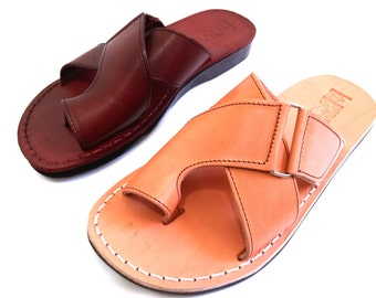 Leather Sandals, Sandals, Mens Sandals, Mens Leather Sandals, BROOKLYN, Jesus Sandals, Leather Sandals Men, Men Sandals, Shoes, Mens Shoes