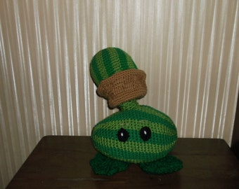 Plants Vs Zombies inspired Melon-pult Plush