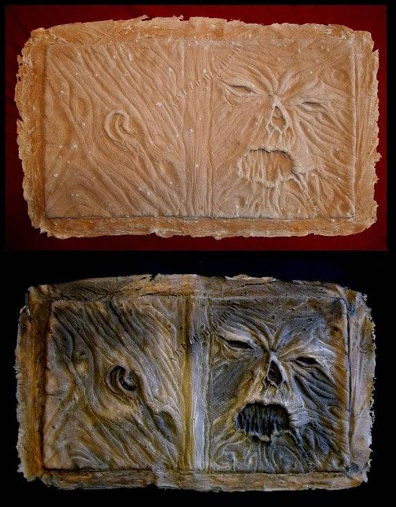 gothic evil necronomicon book of the dead latex book cover 8