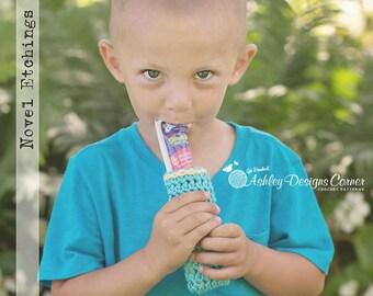 Crochet Pattern Popsicle & Yogurt Cozy -  PDF - Instant Digital Download