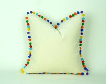 Multi Colored Pillow Etsy