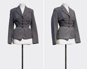 50s Nobody's Business Top  •  1950s wool jacket