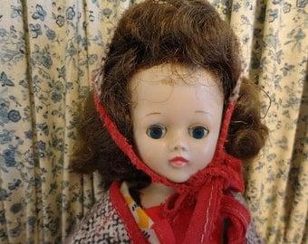 SALE Vintage 1957 Vogue JILL Walker Doll in original Vogue Outfit Lots