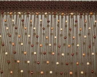 Beaded curtain etsy - Hanging beads for doorways ...