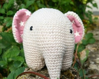 elephant toy amigurumi baby