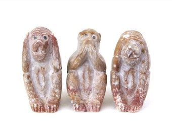 Three Wise Monkeys; See No Evil, Hear No Evil, Speak No Evil