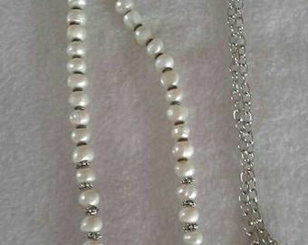 Elegant Freshwater Pearl necklace.