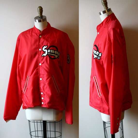 1964 varsity baseball jacket  // varsity jacket // vintage jacket