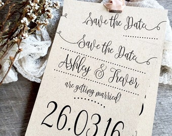 Save the Date Cards, Magnet Save the Dates, Magnet Save the Date, Save the Date, Wedding Save the Dates, Kraft Save the Date, Kraft