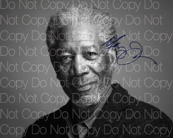 Morgan Freeman signed 8X10 photo picture poster autograph RP