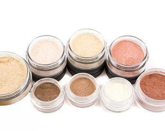 30% OFF Mineral Makeup Kit - 10pc TRY IT - Natural Vegan Cosmetics