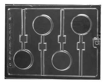 Plain Oreo Cookie Lollipop Mold, Candy Molds, Candy Making