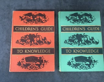 Childrens Guide to Knowledge Books 1956-7