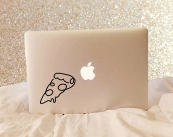 Pizza Decal - Pizza Laptop Decal - Vinyl Decal - Laptop Decal - Macbook Decal - Laptop Sticker - Macbook Sticker - Pizza Sticker - Pizza