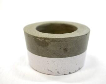 Concrete Planter - Sustainable Concrete Pot - Indoor Outdoor planter - Wedding Decor