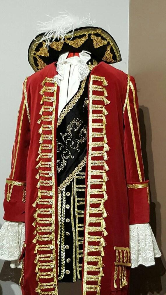 Captain Hook Costume Peter Pan Hook Cosplay