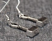Thor's hammer earrings – cosplay or convention accessory – prop replica