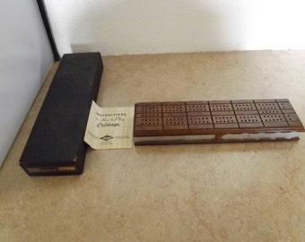 Drueke Cribbage Board Game