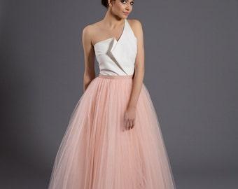 ecru top, ecu peplum top, ecru corset, elegant top, elegant gown, party top, peplum, wedding top