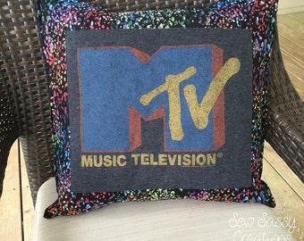 MTV pillowcase