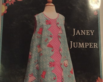 Pattern destash cottage mama janey jumper sewing pattern 6 mos - 10