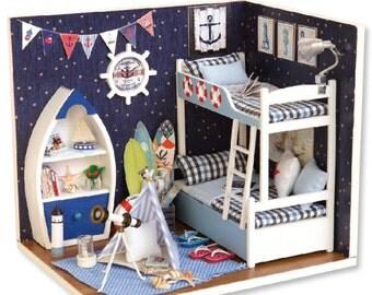 Dollhouse Miniature DIY Kit-Face The Sky