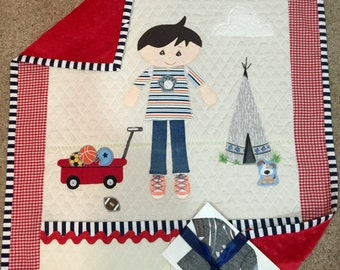 """Storybook """"Kid"""" Quilts ABC - Made to order"""