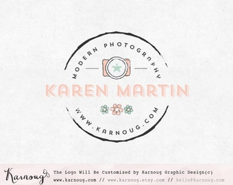 Camera Logo, Photography Logo, Boutique Logo, Premade Logo, Custom Logo, Watermark Logo, Custom Logo Design, Business Logo, Branding Logo