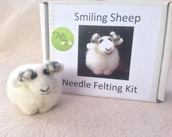 sheep, needle felted sheep kit,whitefaced woodland  countryside, wildlife,