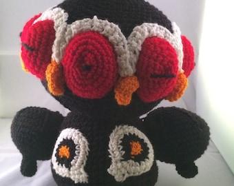 "Claydol from ""Pokemon"" Hand Made Crochet Plush Toy"