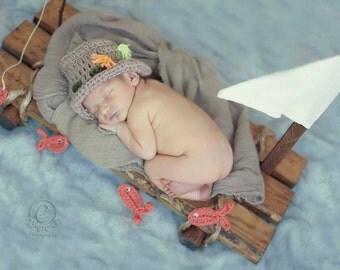 Newborn Crochet Prop Set