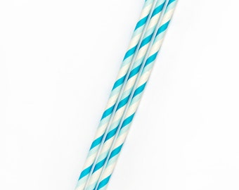 16 Paper straws (choose your color); Pink Paper straws; Blue Paper straws; Red Paper straws