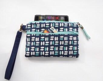 Little Feathers Phone Case Wristlet Wallet