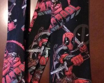 Deadpool Tie/ Necktie/ Deadpool Fabric