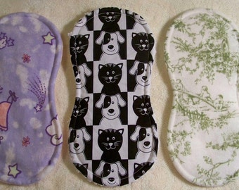 Choice Of Baby Doll Burp Pad - An Original Lucy Littles Creation - 19