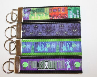 Disney's Haunted Mansion Key FOB's.   NEW Choice for your favorite ride!  They have 999 Happy Haunts, but there is always room for one more