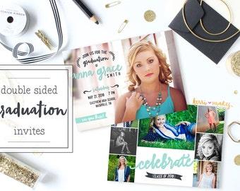 Graduation Invitation - Celebrate - Multi Photo