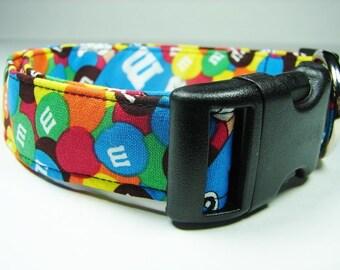 M&M Candy Dog Collar