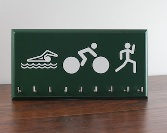 Triathlon Medals Holder - Swim Bike Run Race