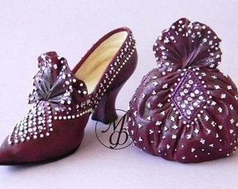 Silicone soap mold Shoe and handbag