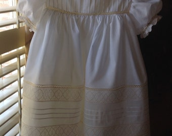 Heirloom Dress with Swiss Embroidery