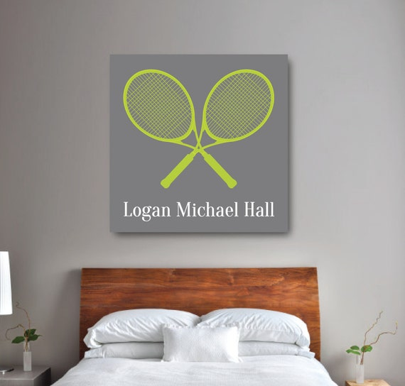 Tennis Wall Art Boy 39 S Tennis Bedroom Decor Tennis