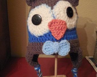 blue owl hat